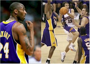 Kobe and Nash.